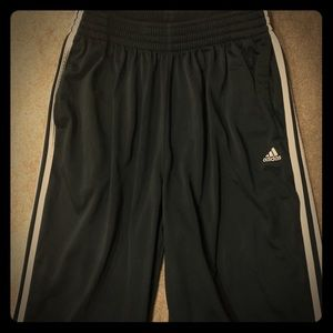 Men's Adidas Black Track Pants